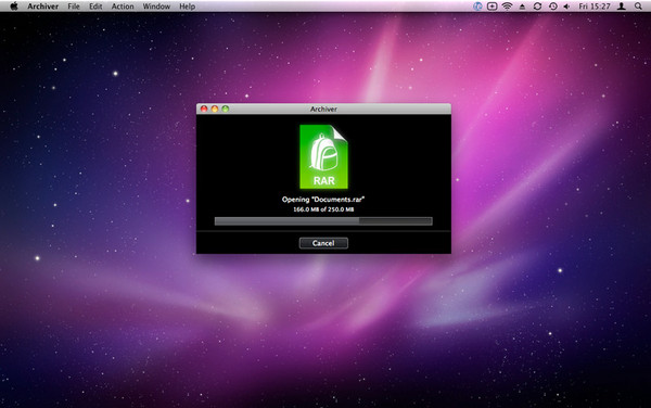 Archiver for mac