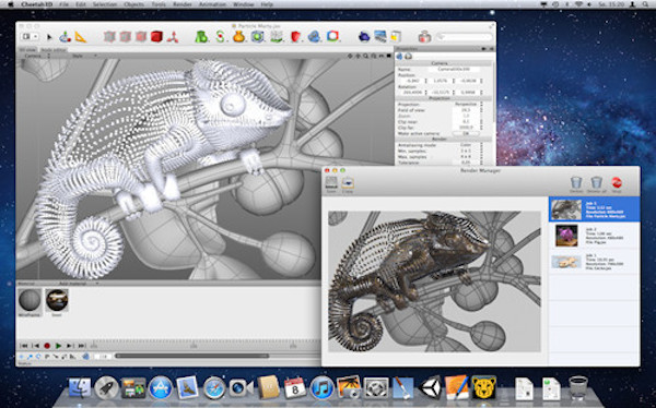 Cheetah3D for mac