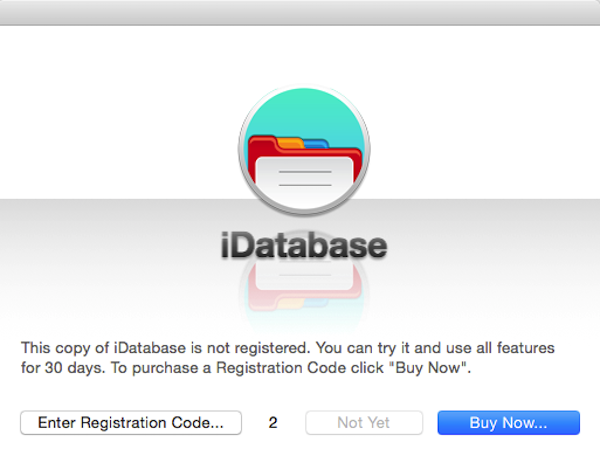iDatabase for mac