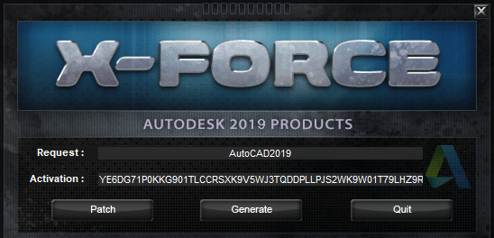 Autodesk Products KeyGen XFORCE