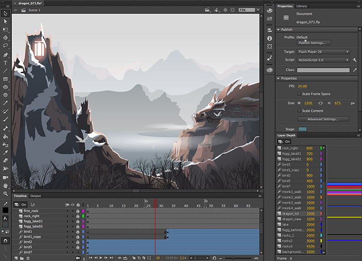 Adobe Animate CC 2018